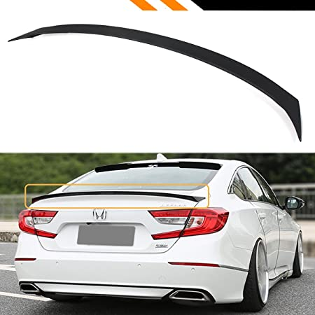 Factory Style Lip Spoiler for the Honda Accord Sedan 2018-2019 Spoiler Painted in the Factory Paint Code of Your Choice 577 883P with 3M tape included