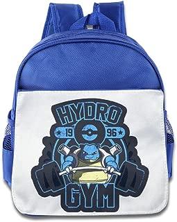 MoMo Unisex Poke Blastoise Gym 1996 Kids School Backpack For Little Kids
