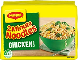 MAGGI 2 Minute Noodles, Chicken 30 Pack, 6 x 5 Pack