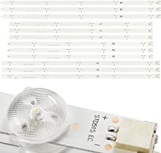 KR-NET 12x LED Backlight Strip for LG 47 inch LC470DU TV 47LN5400 47LN5700 47LN5750 47LN5790, Vizio E470-AO