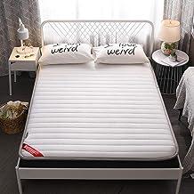 Japanese-Style Foldable Tatami Floor Mat,Anti-Slip Folding Mattress,Breathable Skin-Friendly Mat,Sleeping Pad Mat Lazy Bed...