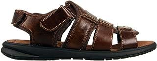 Woodlands Chester Men's Leather Cushioned Sandals Adjustable Comfort