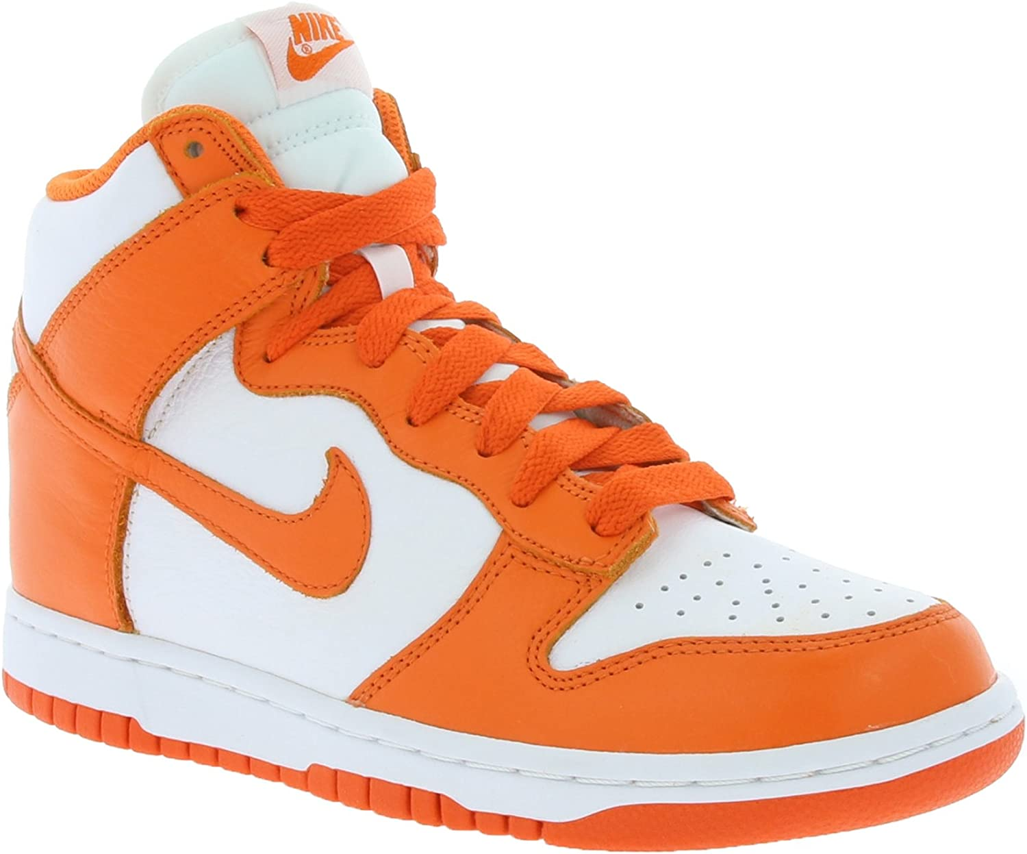 Nike Women's WMNS Dunk Retro QS, White orange Blaze