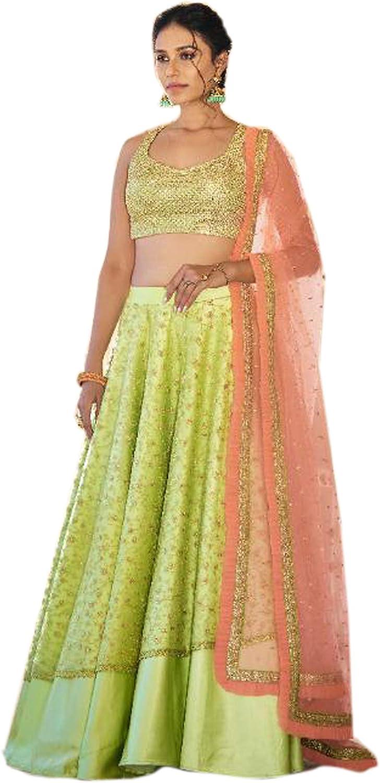 Indian Women Fancy Stunning Party Choli Under blast sales Flayered Sale special price Lehenga Wear Mu