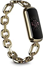Fitbit Luxe, Special Edition gorjana Parker Link Bracelet + peony classic band