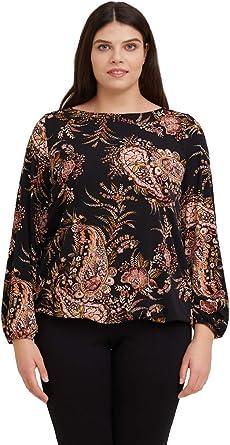 FIORELLA RUBINO : T-Shirt Floreale Donna (Plus Size)