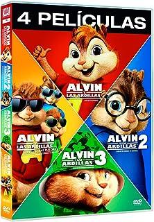 Alvin Y Las Ardillas 1-4 [DVD]