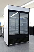 2 Door Sliding Glass Merchandiser Reach In Refrigerator Beverage Cooler MCF8709