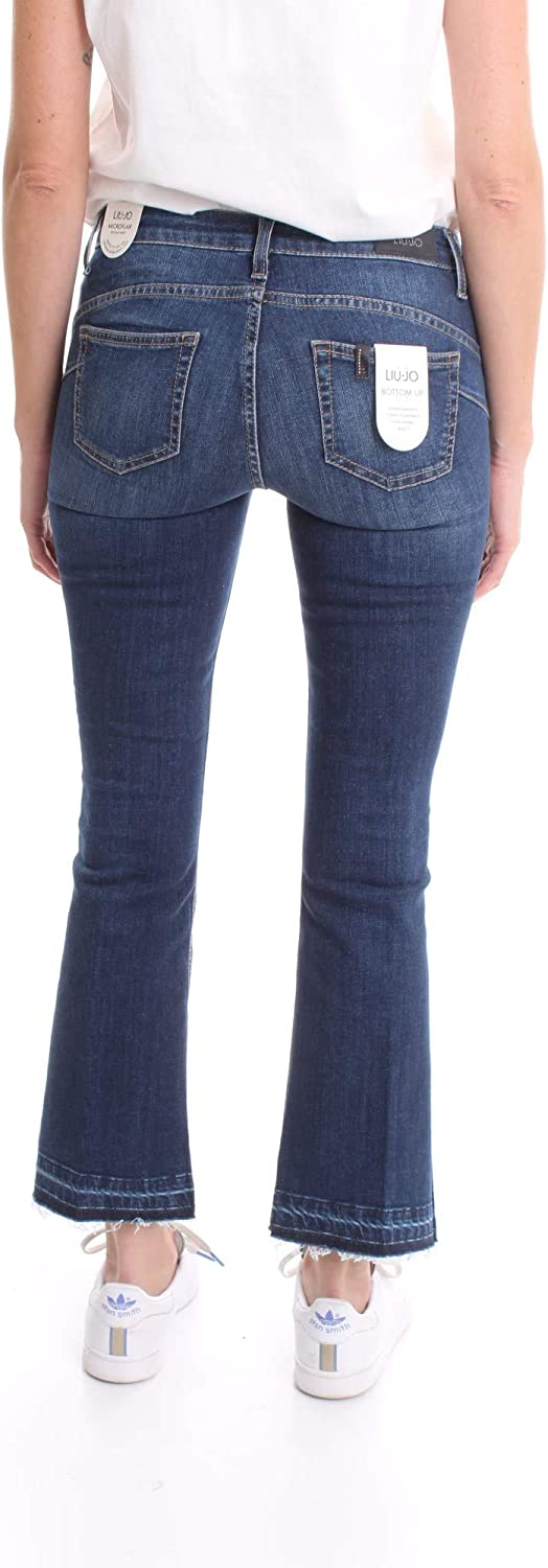 Liu-Jo Blue Denim 1 Jeans Col. 78088 Denim UF0021D4506 Bleu