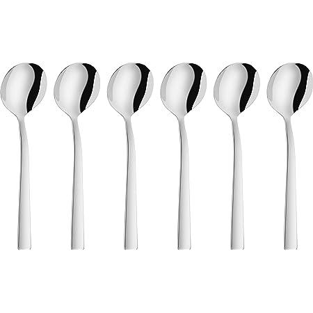 ZWILLING Cuillères à Crème (6 pièces), Acier Inoxydable 18/10, Poli, série Dinner