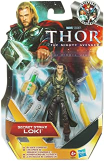 Thor: The Mighty Avenger Action Figure #04 Secret Strike Loki 3.75 Inch