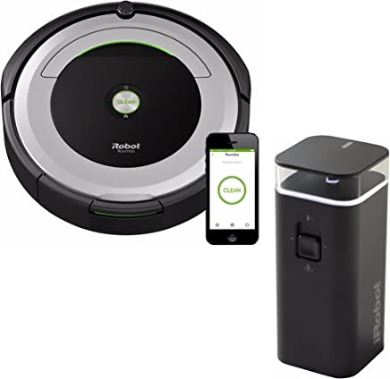 iRobot Roomba 690 Wi-Fi Robotic Vacuum w/Dual Mode Virtual Wall Barrier