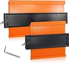 Konturmätare duplicator, beainfir 2-pack plastprofil mätare oregelbunden multifunktionellt mätlinjal markeringsverktyg för...