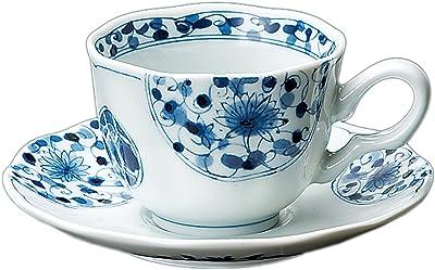 花伊万里コーヒー碗皿 【15.5×7.5㎝】 日本製 74432243