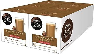 Nescafé Dolce Gusto Café con Leche Descafeinado, 96 Cápsulas