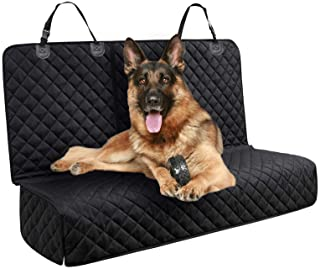 DakPets Dog Car Seat Covers - Pet Car Seat Cover Protector – Waterproof, Scratch Proof, Heavy Duty and Nonslip Pet Bench S...