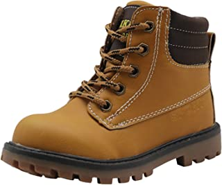 Apakowa Boys Cowboy Outdoor Martin Boot (Toddler/Little Kid)