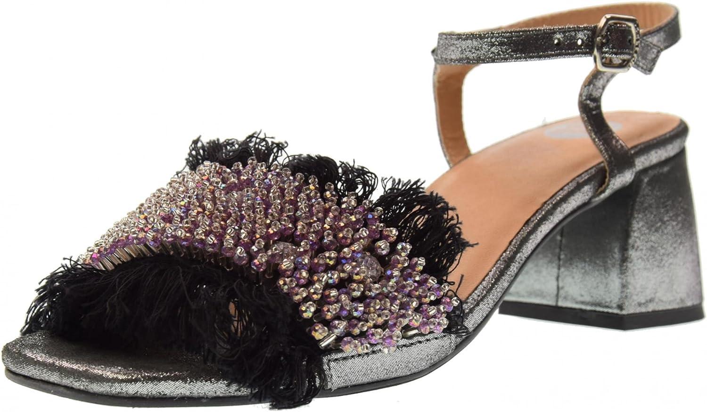 Gioseppo Schuhe Frau Sandalen mit mit mit Niedrigem Absatz 45310 schwarz  31bbd9
