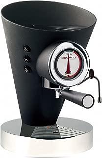 Casa Bugatti 15-EDIVAN Kahve Makinesi Diva Evolution, Siyah