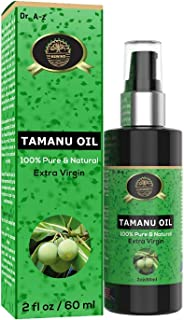 Sponsored Ad - Tamanu Oil Cold Pressed Organic USDA Unrefined Certified essential Oil 100% Pure Skin Hair Acne Scars face