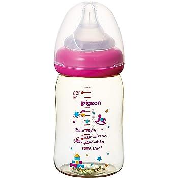 【プラスチック製 160ml】 ピジョン Pigeon 母乳実感 哺乳びん トイボックス柄 0ヵ月から おっぱい育児を確実にサポートする哺乳びん