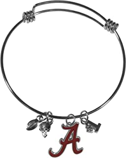 Siskiyou NCAA Womens Charm Bangle Bracelet