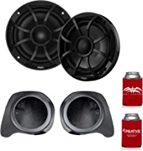 """$409 » Sponsored Ad - wet sounds Recon6-BG 6.5"""" Black Grill Marine Speakers with SSV Works YZ-F65U Front Speaker Pods Compatible ..."""