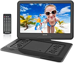 WONNIE 17.9'' Large Portable DVD/CD Player with 15.6 Swivel Screen, 1366×768 HD..
