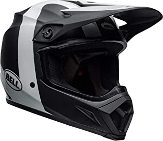 Bell MX-9 MIPS Off-Road Motorcycle Helmet (Presence Matte/Gloss Black/White,  X-Large)