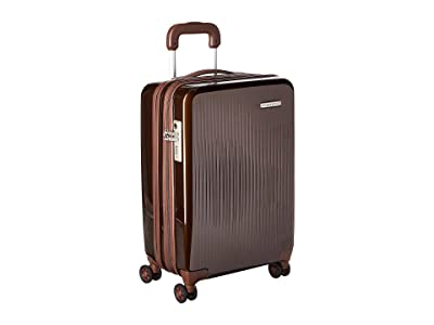 Briggs & Riley Sympatico International Carry-On Expandable Spinner (Bronze) Luggage