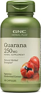 GNC Herbal Plus Guarana 250mg 100 caps