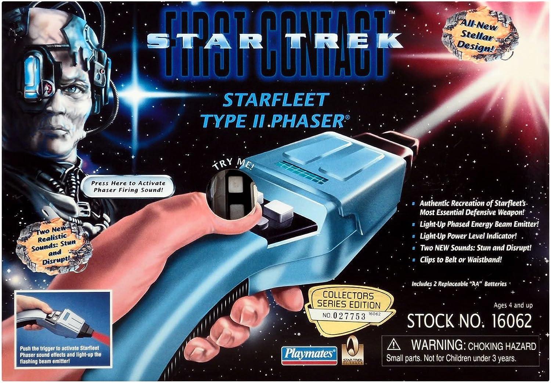 Phaser - Star Trek First Contact - TYP II - mit Licht und Sound Raritt aus dem filmwelt-center