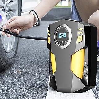 120W Car Portable Air Copressor Pump Digital Tire Inflator,150 Psi Auto Air Pump For Car Motorcycle Led Light Tire Pump,Black