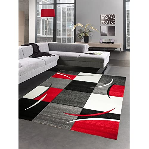 Red And Grey Rug: Amazon.co.uk
