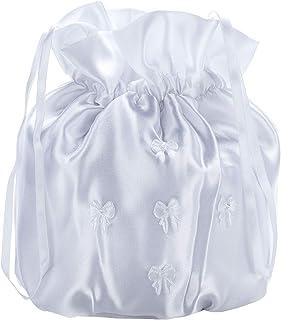 Princess Taufkleid Brauttasche aus Satin Abendtasche Clutch Elegant