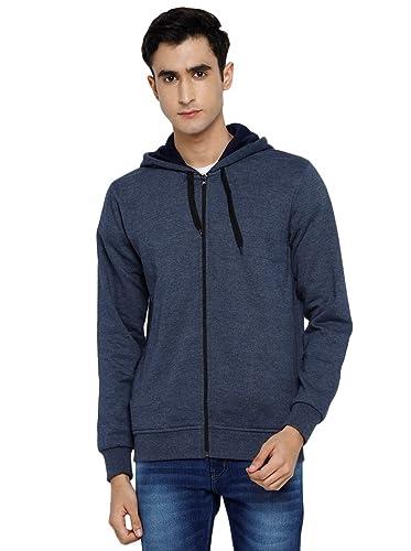 Alan Jones Clothing Men\'s Cotton Hooded Sweatshirt Sweatshirts
