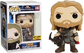 Funko POP! Marvel Thor Ragnarok Thor #246 (holding Surtur's skeletal faceplate)