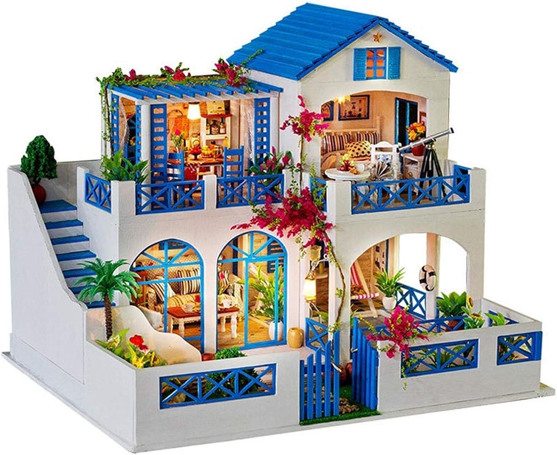 venta caliente en línea AHWZ Casa de muñecas DIY, DIY, DIY, casa de muñecas de Madera Mini Kit de Cabina Creativo Regalo de cumpleaños para niñas Niños Meteor Garden  hasta un 65% de descuento