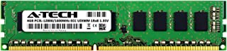 A-Tech 4GB for GIGABYTE GA-790FXTA-UD5 (1 x 4GB) PC3-12800 (DDR3-1600) ECC Unbuffered UDIMM 240-Pin 1Rx8 1.35V Server Memo...