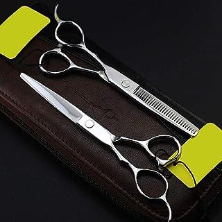 HJTLK Tijeras de Pelo para - Tijeras para peluqueros Tijeras para Cortar el Pelo con Tijeras HQ J2 Super Sharp Steel How, ...