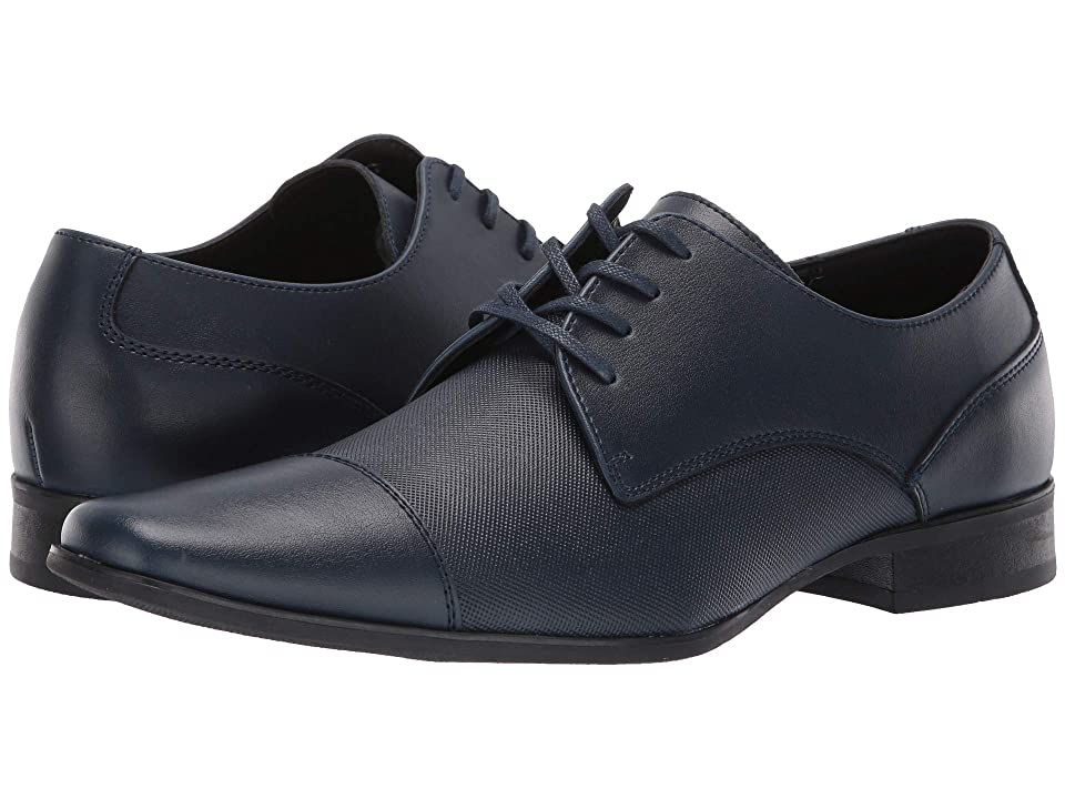 Calvin Klein Bram (Dark Navy Diamond Leather) Men