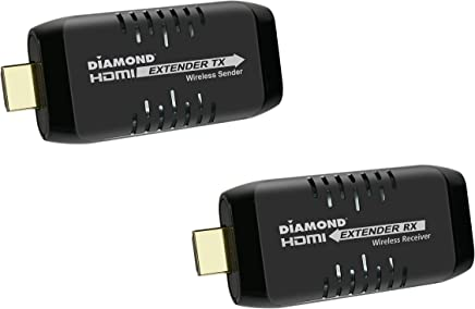 $127 Get Diamond Multimedia Wireless HDMI USB Powered Extender Kit, TV Transmitter & Receiver for HD 1080p, Stream Video and Audio from: Laptops, PC, Cable Box, Satellite Box, Blu-ray, DVD, PS4, Xbox (VS50)