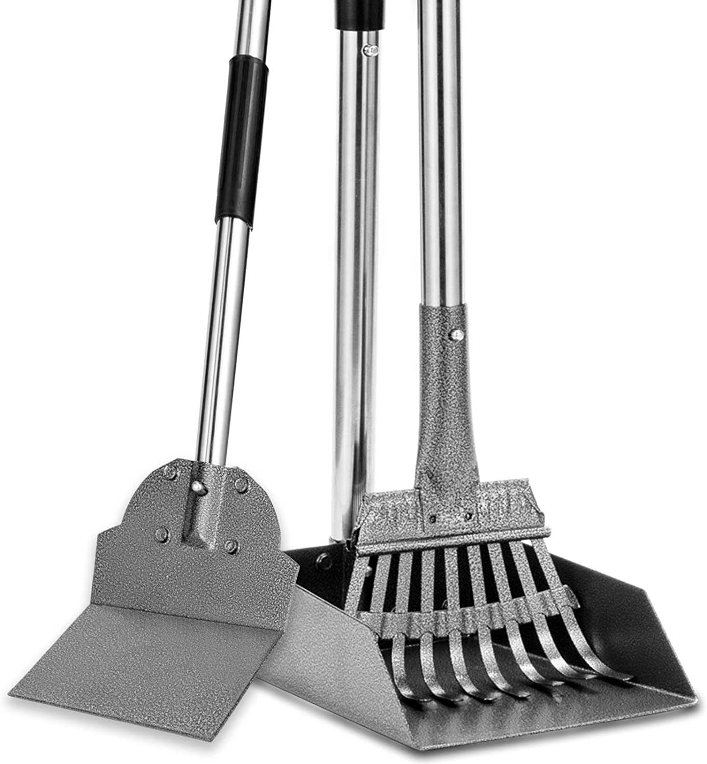 Dog Pooper Scooper Charlotte Mall Tray Rake Special Campaign and 3 Adjus Poop Spade Pack Scoop