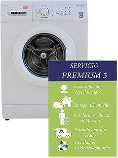comprar comparacion Scandomestic - Lavadora de carga frontal WAH1702-7 KG 1200 RPM - Bajo consumo energético - color Blanco y carga variable.I...