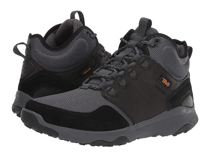 Teva  Arrowood Venture Mid WP (Black) Mens Shoes