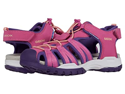 Geox Kids Borealis 9 (Big Kid) (Fuchsia/Violet) Girl