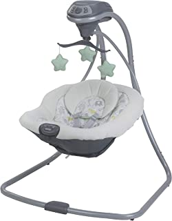 Graco Simple Sway Baby Swing, Sketch Safari