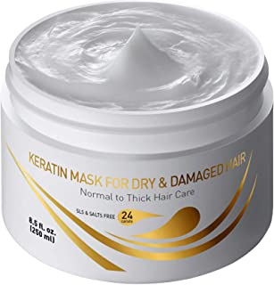 Keratin Mask for Dry & Damaged Hair 8.5 fl.oz. 250 ml