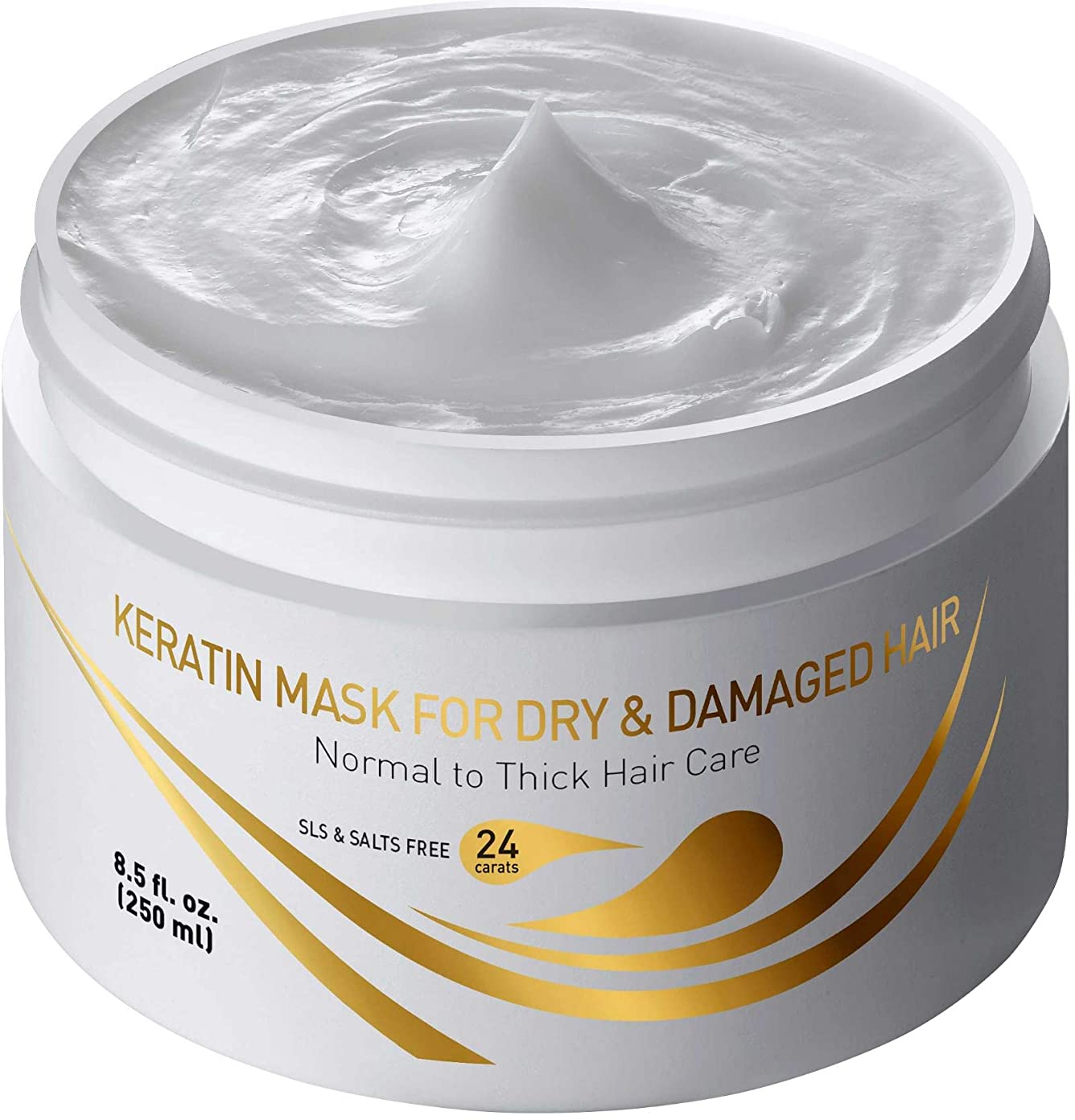 毎回最近削除するKeratin Mask for Dry & Damaged Hair 8.5 fl.oz. 250 ml