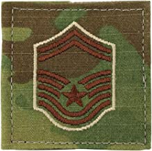 US Air Force Scorpion OCP Enlisted Rank with Hook Fastener